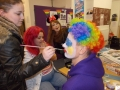 getting ready for comic relief