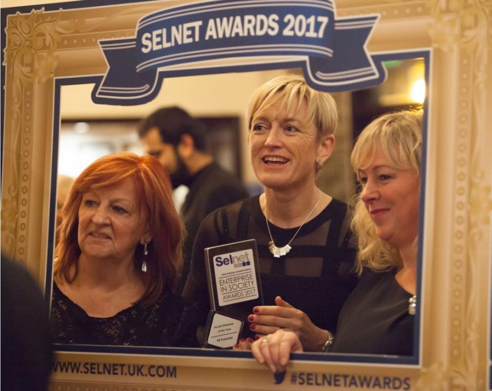 Deb, Linda&Denise frame